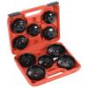 vidaXL 11 darabos kupakos olajszűrő-eltávolító készlet