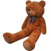 vidaXL 200 cm Barna ennivaló Teddy plüss mackó