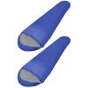 vidaXL 2 db XXL-es könnyűsúlyú múmia hálózsák