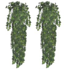 vidaXL 2 db Zöld Mesterséges Borostyán Bokor 90 cm fa és növény