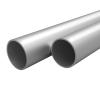 vidaXL 4 db alumíniumcső Ø10x2mm, 2 m