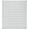 vidaXL ablakredőny alumínium 60x130 cm ezüst