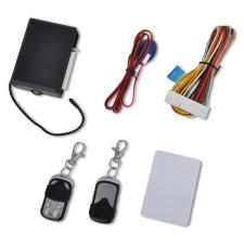 vidaXL Autó központi zár készlet univerzális 2 távirányítók autójavító eszköz