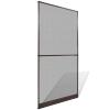 vidaXL Barna csukló ajtós szúnyogháló 120 x 240 cm