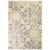 vidaXL bézs/kék modern szőnyeg virágmintával 80 x 150 cm