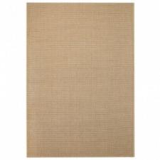 vidaXL Bézs, szizál hatású beltéri/kültéri szőnyeg 80 x 150 cm lakástextília
