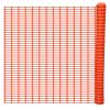vidaXL Biztonsági Rács Hófogó Narancs színű 50 m