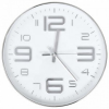 vidaXL ezüstszínű falióra 30 cm