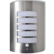 vidaXL Fali Lámpa Rozsdamentes Acél Mozgásérzékelővel kültéri világítás