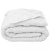 vidaXL Fehér steppelt könnyű matracvédő 140 x 200 cm