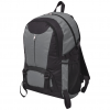 vidaXL Fekete és szürke 40 L túrázó hátizsák