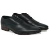 vidaXL Férfi fűzős, fekete alkalmi félcipő, 40-es méret PU bőr