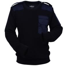 vidaXL férfi pulóver méret: M tenger kék