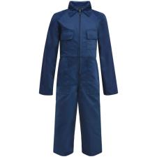vidaXL Gyermek szerelőruha kék 146/152-es méret munkaruha