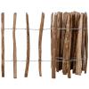 vidaXL impregnált mogyorófavessző kerítés 60 x 500 cm