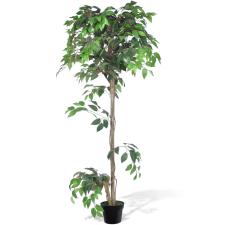 vidaXL Mesterséges Növény Fikuszfa Edény 160 cm fa és növény