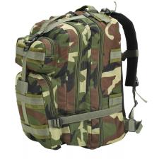 vidaXL terepmintás katonai hátizsák 50 L hátizsák