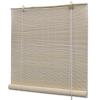 vidaXL természetes színű bambuszroló 100 x 220 cm