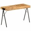vidaXL Tömör mangófa íróasztal 118 x 50 x 75 cm