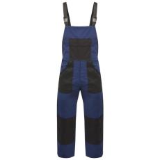 vidaXL XL-es méretű férfi kék vállpántos munkaoverall