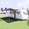 vidaXL zöld HDPE sátorszőnyeg 250 x 300 cm