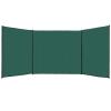 vidaXL zöld HDPE szélfogó kerítés 150 x 450 cm