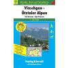 Vinschgau-Ötztaler Alpen turistatérkép - f&b WKS 2