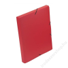 VIQUEL Gumis mappa, 30 mm, PP, A4, VIQUEL Coolbox, piros (IV021301)