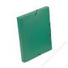 VIQUEL Gumis mappa, 30 mm, PP, A4, VIQUEL Coolbox, zöld (IV021303)