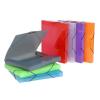 VIQUEL Gumis mappa, 30 mm, PP, A4, VIQUEL Propyglass, vegyes színek