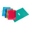 """VIQUEL Gyorsfűző, klippes, PP, A4, VIQUEL """"Propyglass V-Clip"""", vegyes színek"""