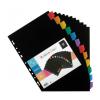 VIQUEL Regiszter, műanyag, A4 Maxi, 12 részes, VIQUEL ,