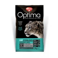 Visán Optimanova Cat Sterilised 8 kg macskaeledel