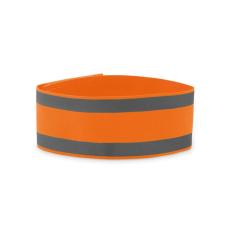 VISIBLE ME Sport karpánt lycra anyagból, neon narancssárga biztonságtechnikai eszköz
