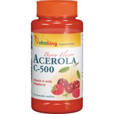 VitaKing c-500 acerola rágótabletta 40db vitamin
