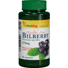 VitaKing fekete áfonya kapszula vitamin