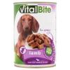 VitalBite teljes értékű állateledel felnőtt kutyák számára báránnyal szószban 415 g