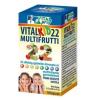 Vitalkid22 multifrutti 22 zöldség és gyümölcs kivonat multivitamin kapszula gyerek 60db+60db