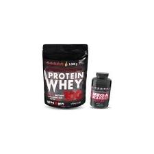 VITALMAX PROTEIN WHEY 100 / 2300g + Vitalmax MEGA BCAA 300 kapszula táplálékkiegészítő
