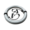 Vivamax Gimnasztikai labda stabilizáló gyűrű gumikötéllel