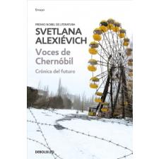 Voces de Chernobil / Voices from Chernobyl – Svetlana Alexievich idegen nyelvű könyv