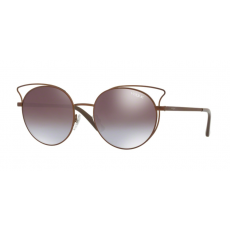 Vogue VO4048S 5074B7 CASUAL CHIC MATTE LIGHT BROWN VIOLET GRAD BROWN MIRROR BLUE napszemüveg