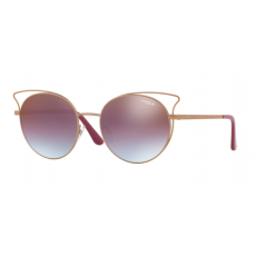 Vogue VO4048S 5075H7 CASUAL CHIC MATTE LIGHT PINK GOLD AZ GRAD PINK GRAD BRON MIRR RED napszemüveg