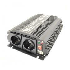 Volt Polska IPS 1000 áramátalakító inverter 24V +USB csatlakozó elektromos alkatrész