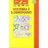 Volterra és San Gimignano térkép - Belletti