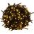 VOLTRONIC® Karácsonyi LED fényfüzér 5 m - meleg fehér 50 dióda - zöld kábel