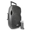Vonyx Vonyx AP1500PA, mobil PA rendszer, 38 cm (15''), bluetooth, USB, SD, MP3, VHF tölthető akkumulátor