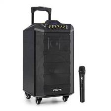 Vonyx VPS10 audio rendszer, 250W, USB/SD port, bluetooth, 12V/4,5Ah, akkumulátor hangfal