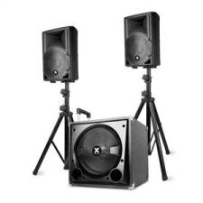 """Vonyx VX800BT 2.1 aktív hangfal készlet, 800 W, 12"""" subwoofer, 2x8'' hangszóró, BT, USB, SD hangfal"""