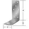 Vormann Derékszögű lemez 71084 72x72x40 mm/100 db